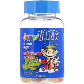 Multi-Vitamin & Mineral,GummiKing, Мультивитамины и минералы для детей, 60 штук