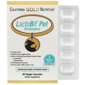 LactoBif Pet Probiotics, California Gold Nutrition, для домашних животных