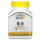 21st Century, B-6, 100 мг