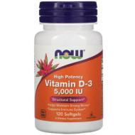 Now Foods, Витамин D-3 с высокой эффективностью