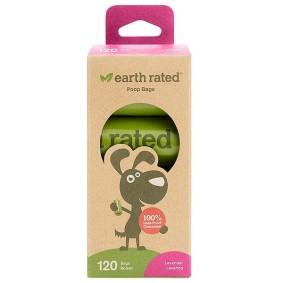 Dog Waste Bag, Earth Rated, с запахом лаванды