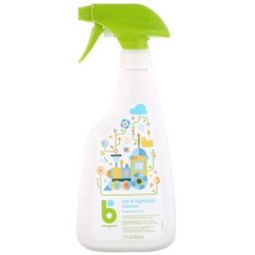 Toy & Highchair Cleaner, BabyGanics, без отдушек, 502 мл