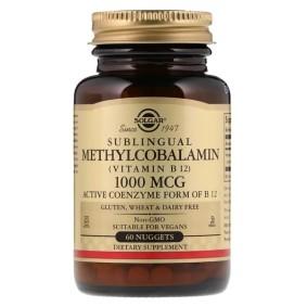 Sublingual Methylcobalamin (Vitamin B12), Solgar, Витамин В12