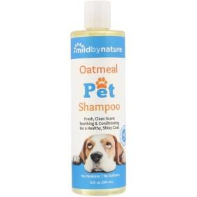 Oatmeal Pet Shampoo, Mild By Nature, для домашних животных, 355 мл