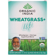 Organic India, Wheatgrass + Lift