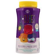 Solgar, U-Cubes, мультивитаминные жевательные конфеты для детей