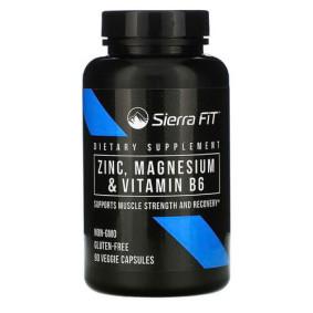 Sierra Fit, Цинк, магний и витамин B6