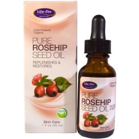 Pure Rosehip Seed Oil, Life-flo, уход за кожей, 30 мл