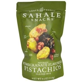 Snack Better, Sahale Snacks, фисташки с натуральным вкусом граната