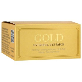 Gold Hydrogel Eye Patch, Petitfee, патчи для глаз с золотым гидрогелем, 60 шт