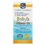 Nordic Naturals, витамин D3 в каплях