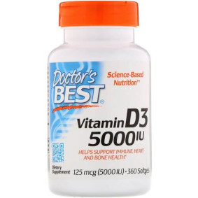 Doctor's Best, Витамин D3