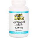 Natural Factors, Небеленый лецитин