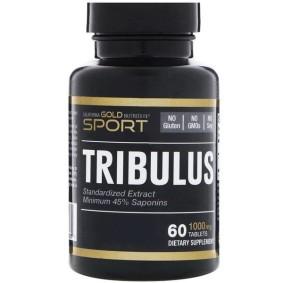 Tribulus, California Gold Nutrition, стандартизированный экстракт