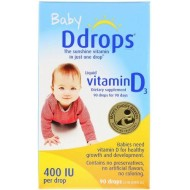 Ddrops, Baby, жидкий витамин D3