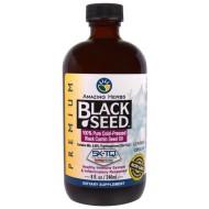 Black Seed, Amazing Herbs, 100% масло семян черного тмина холодного отжима, 240 мл